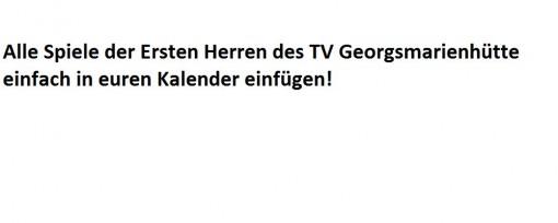 TV Georgsmarienhütte 1.Herren
