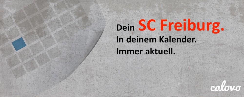 SC Freiburg - Spielplan