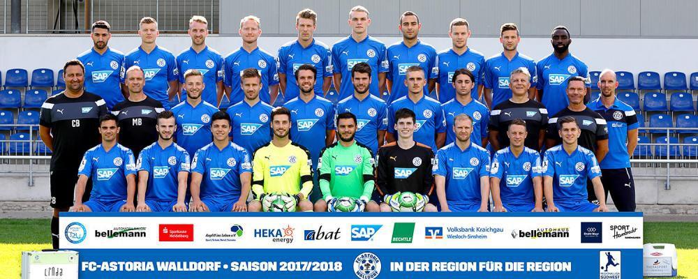 FC Astoria Walldorf - Spielplan