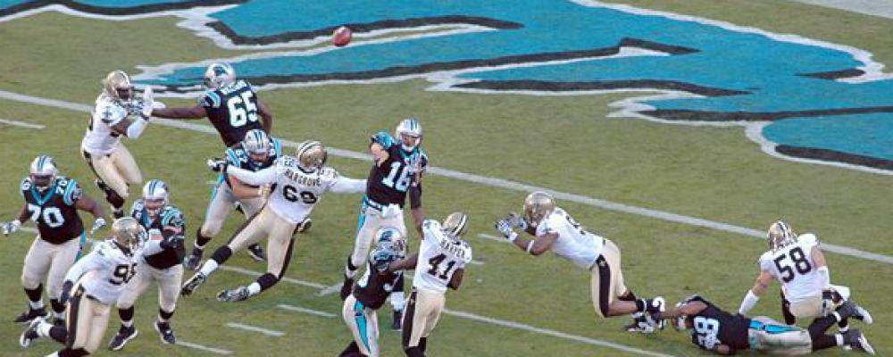 Carolina Panthers - Spielplan