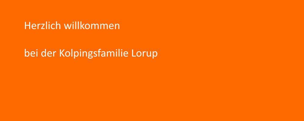 Kolpingsfamilie Lorup