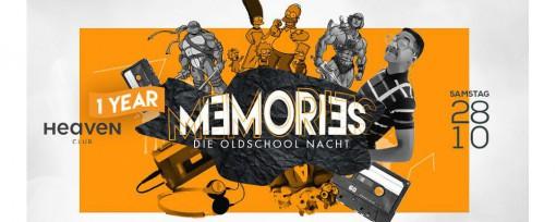 1 Year Memories - Die Oldschool Nacht