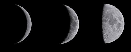 Mondphasen - Der Tag auf einen (Mond-)Blick