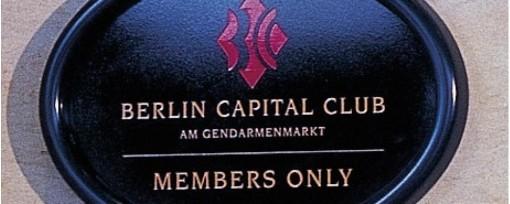 Berlin Capital Club - Mitgliedertreffen