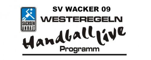 1. Männer - SV Wacker 09 Westeregeln - Handball