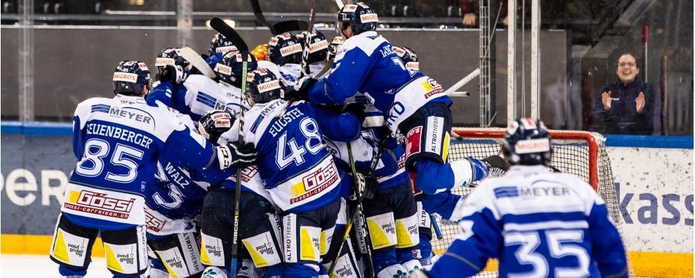 EVZ Academy - Swiss League Spielplan 2021/22