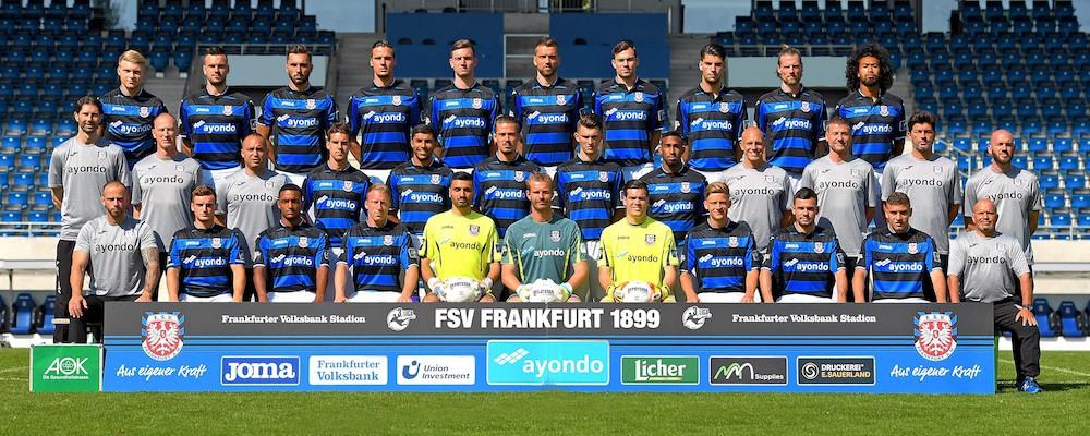 FSV Frankfurt - Spielplan
