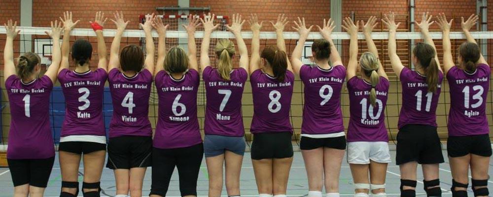 Volleyballmädels TSV Klein Berkel