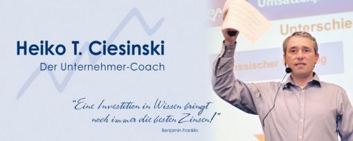 Webinar-, Seminar- & Vortrags-Termine - Heiko T. Ciesinski-Der Unternehmer-Coach