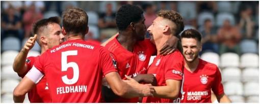 FC Bayern Munich - U23 fixtures (EN)